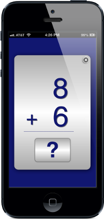 best math flashcard app flash cards addition subtraction multiplication division iphone ipad