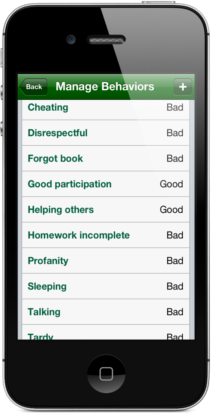 Easy Behavior Tracker for Teachers Behaviors Manager