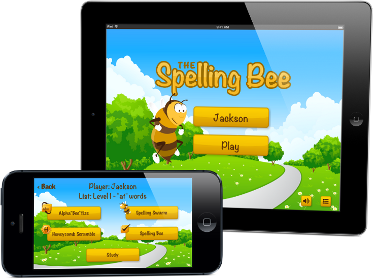 Spelling Test App for Preschool and Elementary for learning to spell